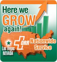 ORR Protection expands to Las Vegas
