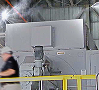 Water Mist Fire Protection Steam Turbine