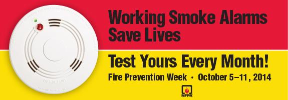 fire prevention week 2014