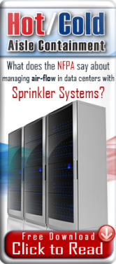 sprinklers systems and hot aisle cold aisle containment download