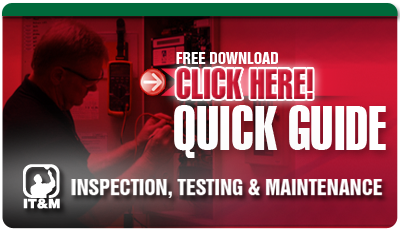 Quick Reference Guide to the NFPA, Fire Protection Systems: Inspection, Test & Maintenance Manual