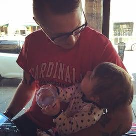 Zac and his Child