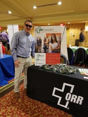 ORR Corporation at Louisville Career Fair