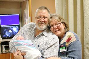 James, Carla and granddaughter