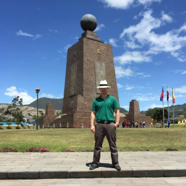 Olen in Ecuador