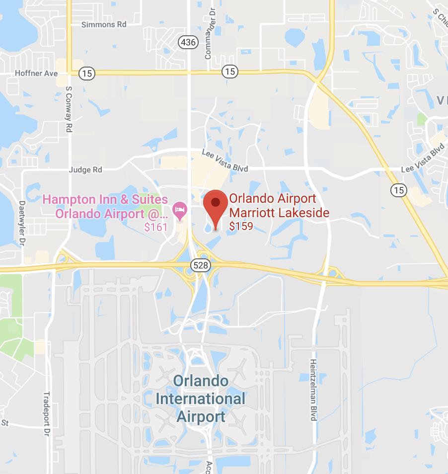 Orlando Map