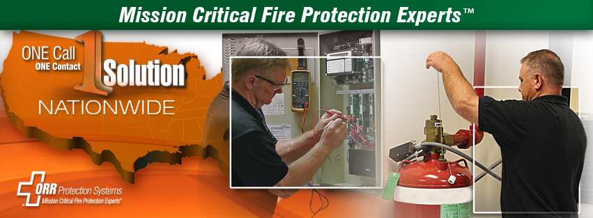 ORR Protection Systems Mission Critical Fire Protection Experts
