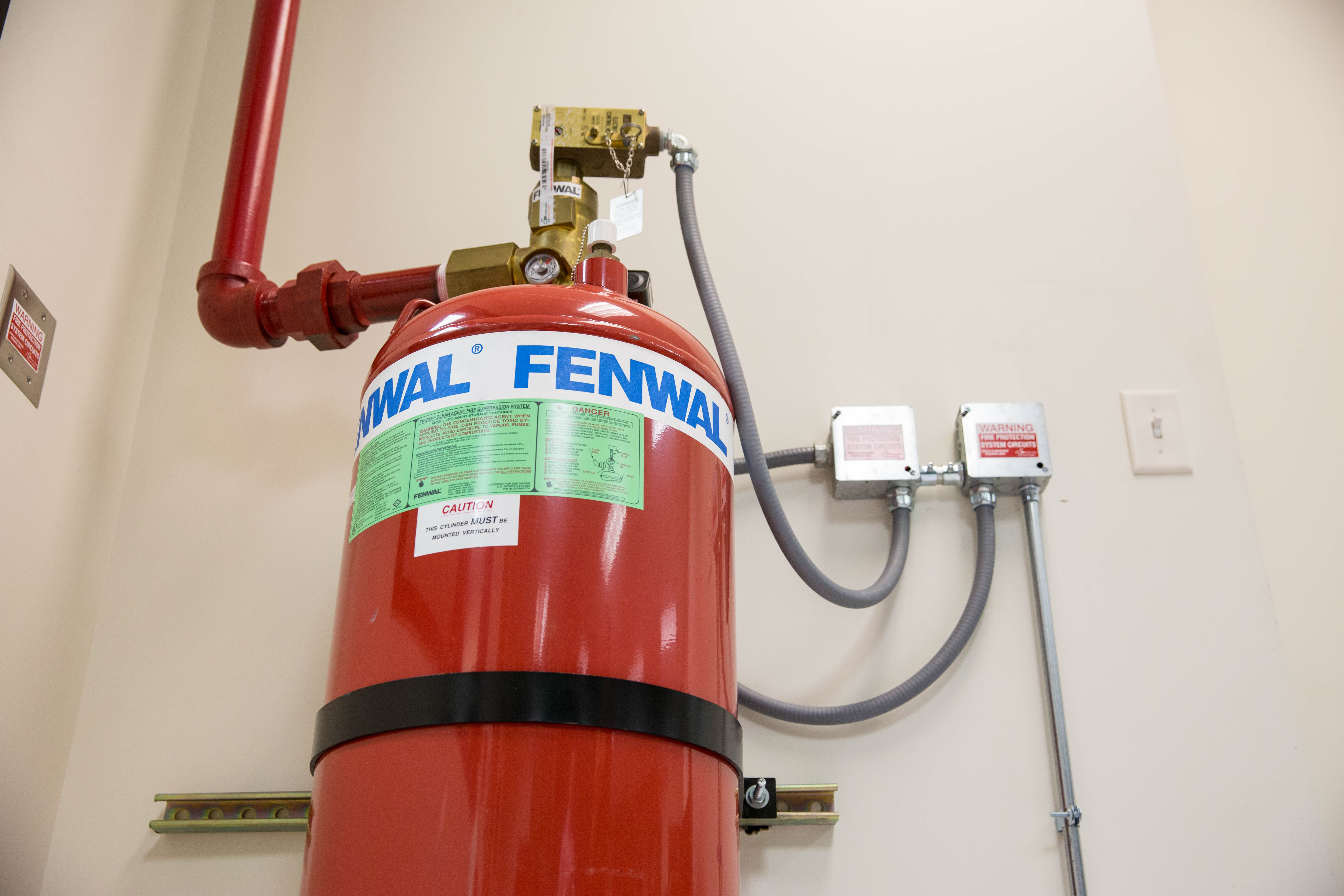 fire detection and suppression systems provided by ORR Protection