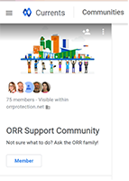 orr-support-community