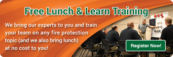 lunch and learn fire protection systems