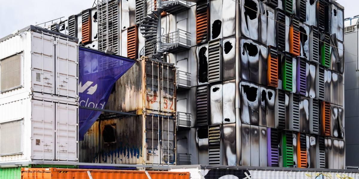 Burnt data center at OVHcloud Strasbourg